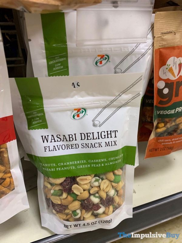 7 Select Wasabi Delight Flavored Snack Mix