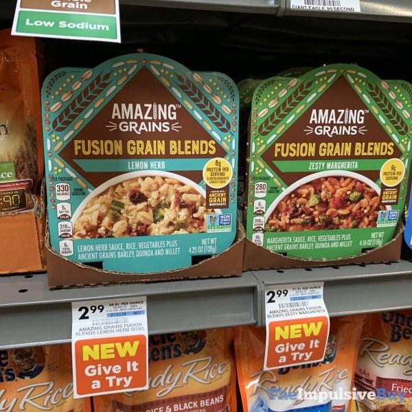 Amazing Grains Fusion Grain Blends  Lemon Herb and Zesty Margherita