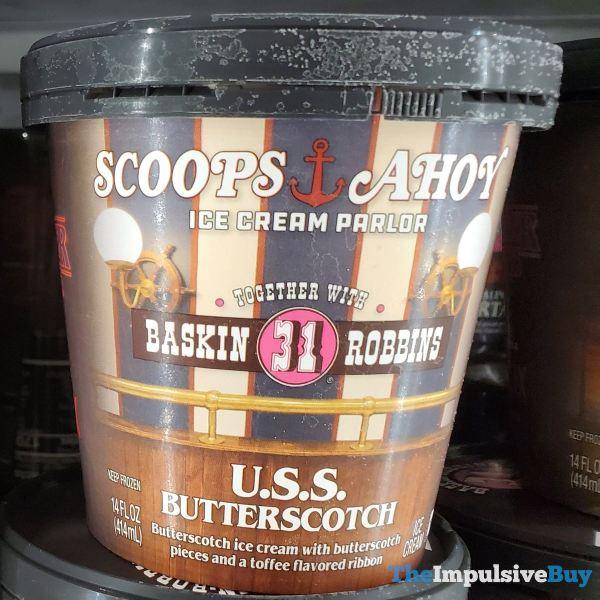Baskin Robbins Stranger Things U S S Butterscotch Ice Cream