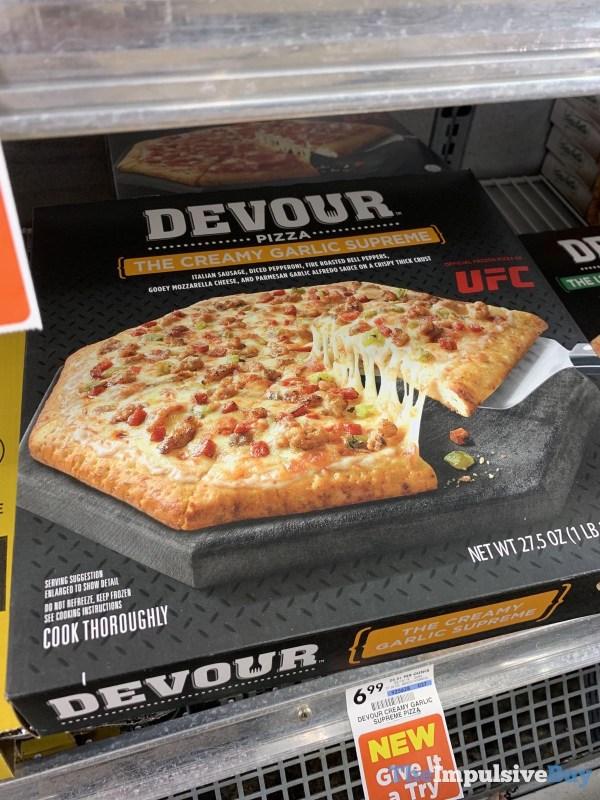 Devour Pizza The Creamy Garlic Supreme