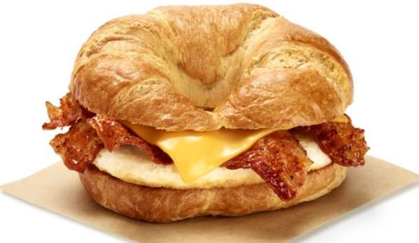 Dunkin Sweet BBQ Bacon Breakfast Sandwich
