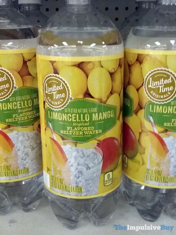 Giant Limited Time Originals Limoncello Mango Inspired Flavored Seltzer Water