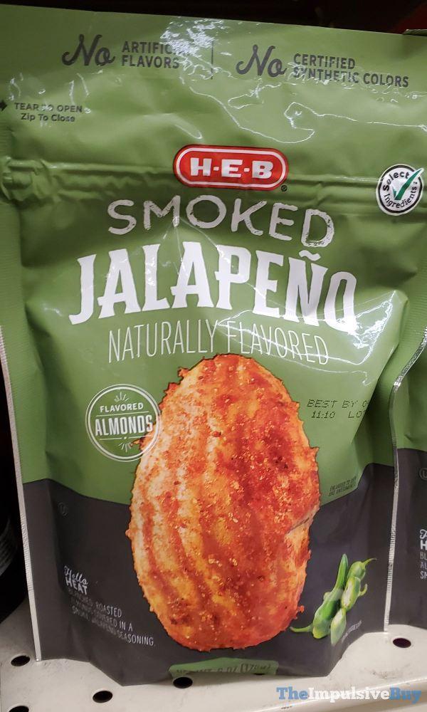 H E B Smoked Jalapeno Almonds