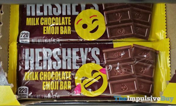 Hershey s Milk Chocolate Emoji Bar