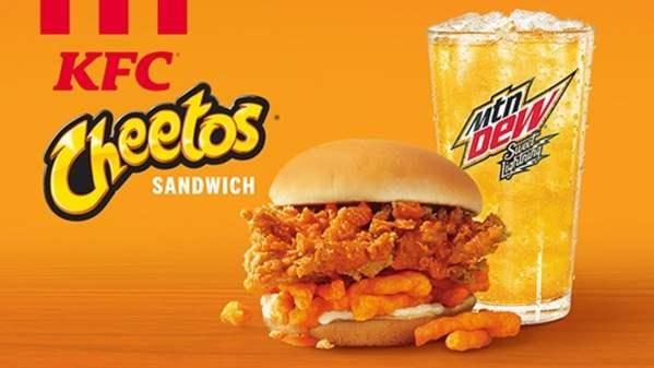 KFC Cheetos Sandwich News
