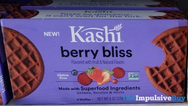 Kashi Berry Bliss Waffles