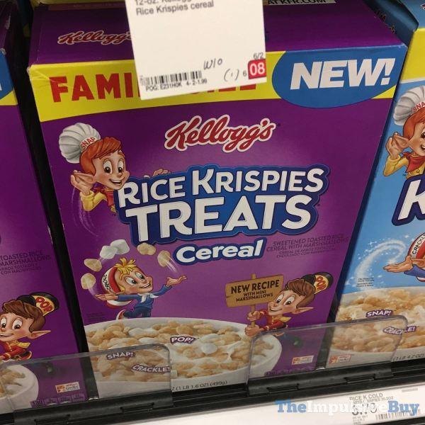 Kellogg s Rice Krispies Treats Cereal  New Recipe