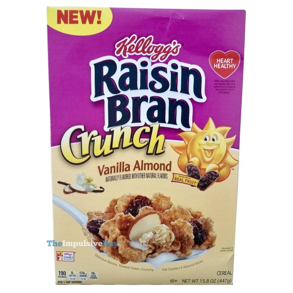 Kellogg s Vanilla Almond Raisin Bran Crunch Cereal