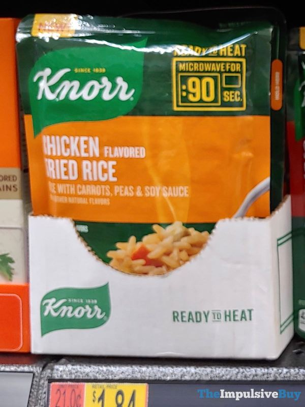 Knorr Ready to Heat Chicken Flavored Fried Rice