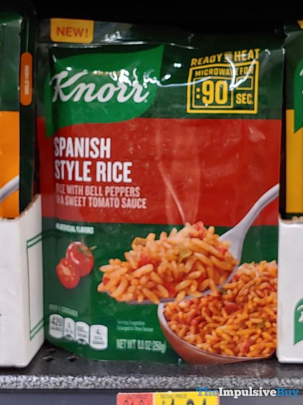 Knorr Ready to Heat Spanish Style Rice