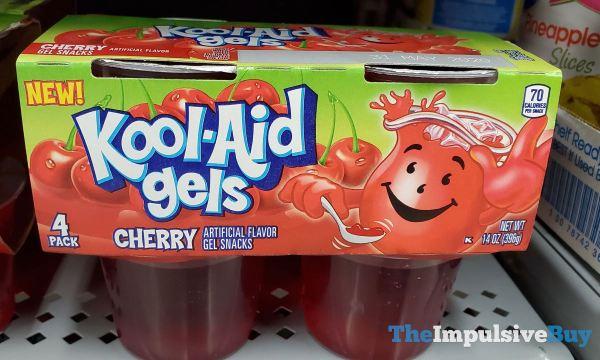 Kool Aid Gels Cherry
