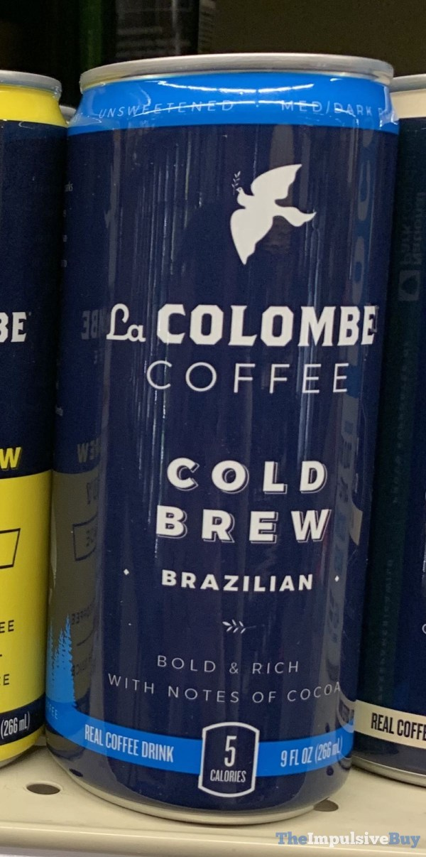 La Colombe Coffee Cold Brew Brazilian