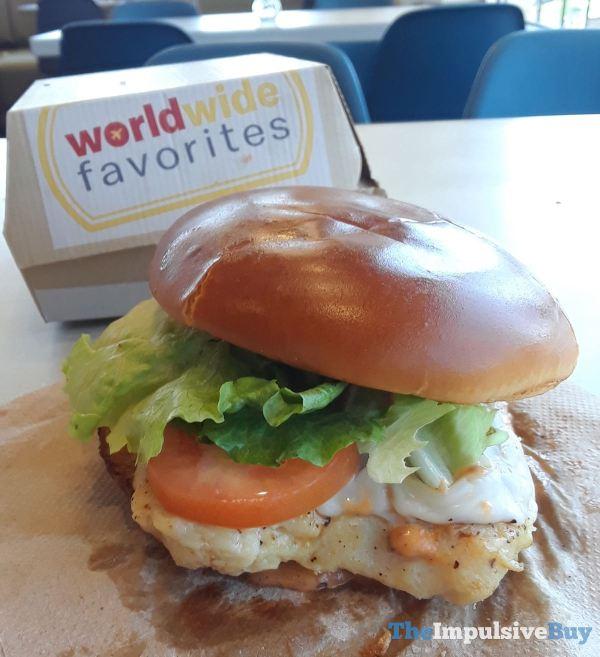 McDonald s Tomato Mozzarella Chicken Sandwich Grilled