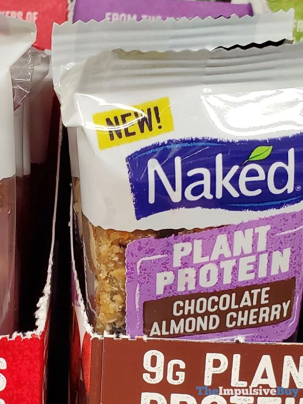 Naked Plant Protein Chocolate Almond Cherry Bar