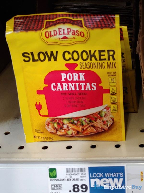 Old El Paso Pork Carnitas Slow Cooker Seasoning Mix