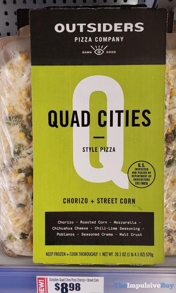 Outsiders Pizza Company Chorizo + Street Corn Quad Cities Style Pizza
