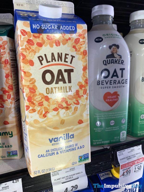 Planet Oat Vanilla Oatmilk