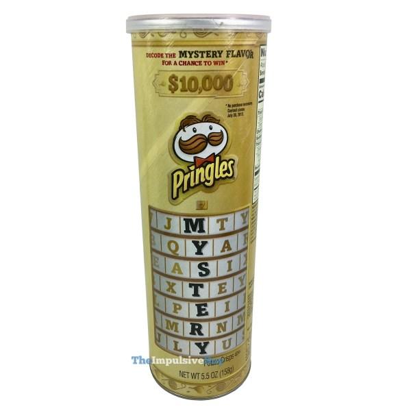 Pringles Mystery Flavor  U S