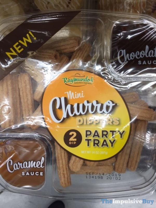 Raymundo s Mini Churro Dippers Party Tray