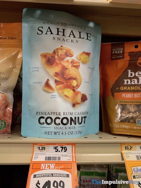 Sahale Snacks Pineapple Rum Cashew Coconut Snack Mix