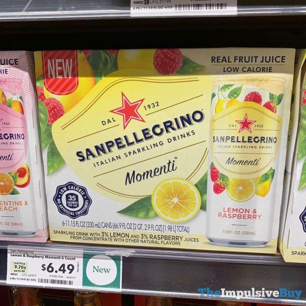 Sanpellegrino Momenti Lemon  Raspberry