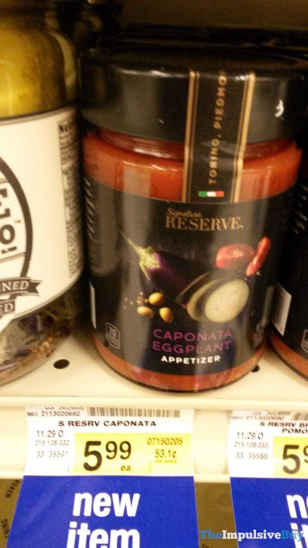 Signature Reserve Caponata Eggplant Appetizer