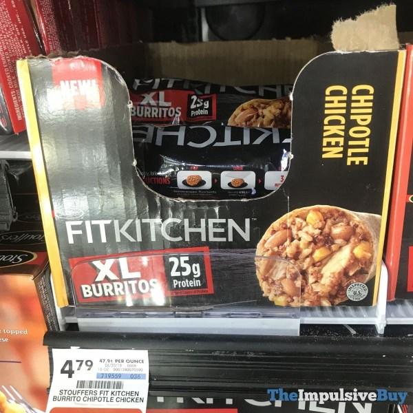 Stouffer s Fit Kitchen Chipotle Chicken XL Burrito