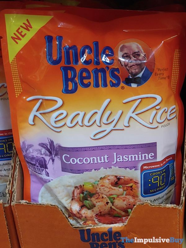 Uncle Ben s Coconut Jasmine Ready Rice