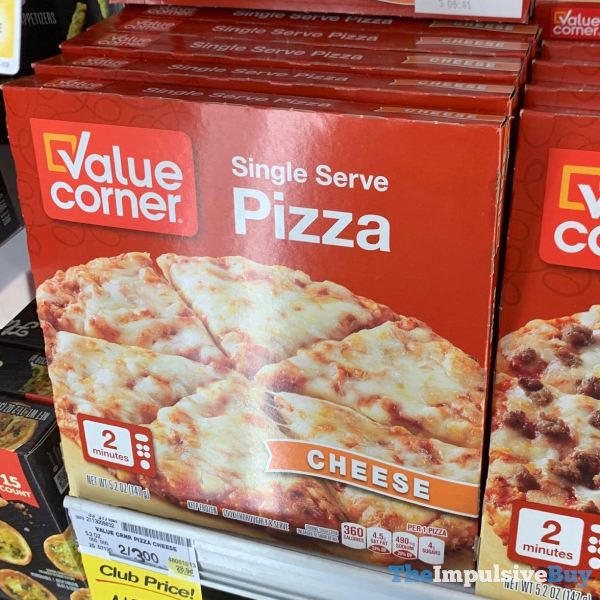 Value Corner Cheese Single Serve Pizza