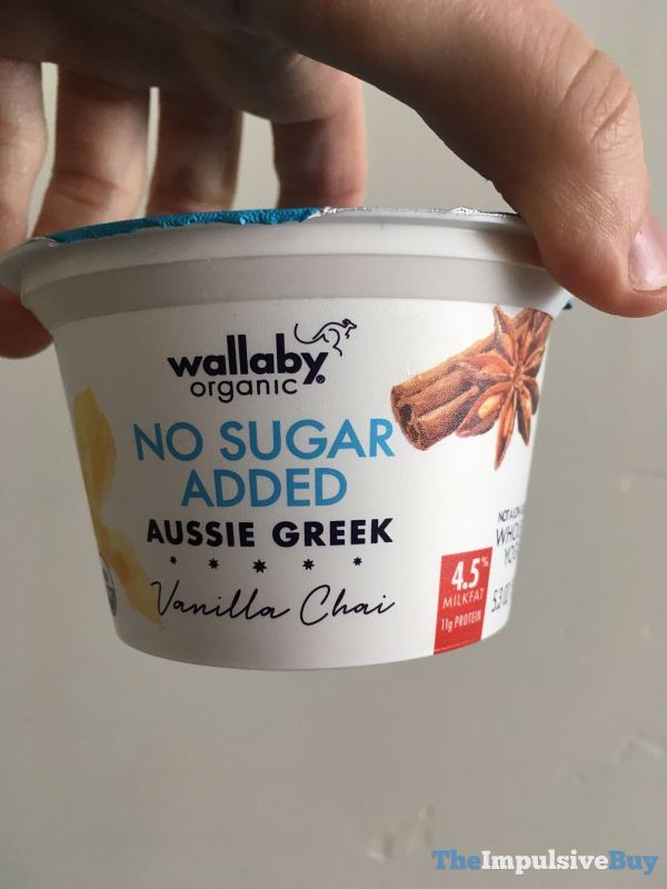 Wallaby Organic No Sugar Added