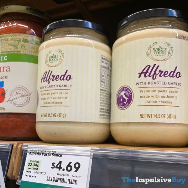 Whole Foods Alfredo with Roasted Garlic Pasta Sauce