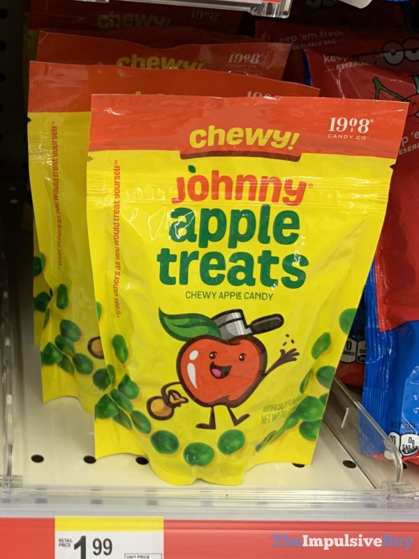 1908 Candy Co Chewy Johnny Apple Treats
