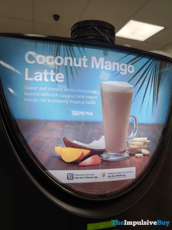 7 Eleven Coconut Mango Latte