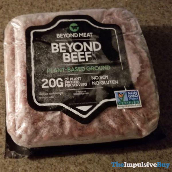 Beyond Meat Beyond Beef Plant Based Ground
