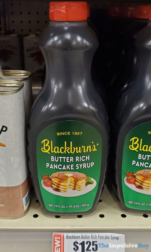 Blackburn s Butter Rich Pancake Syrup