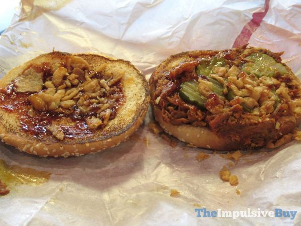 Burger King Pulled Pork King 2
