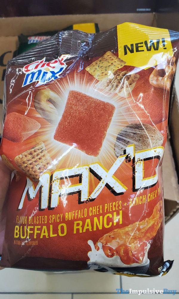 Chex Mix Max d Buffalo Ranch