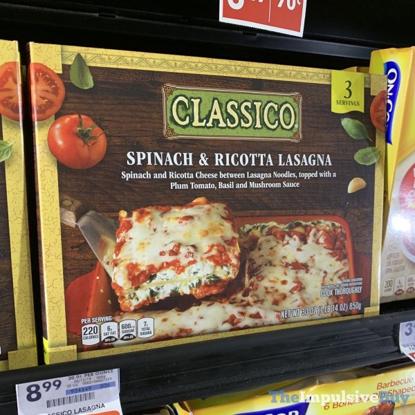Classico Spinach  Ricotta Lasagna