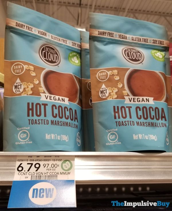 Coconut Cloud Toasted Marshmallow Vegan Hot Cocoa