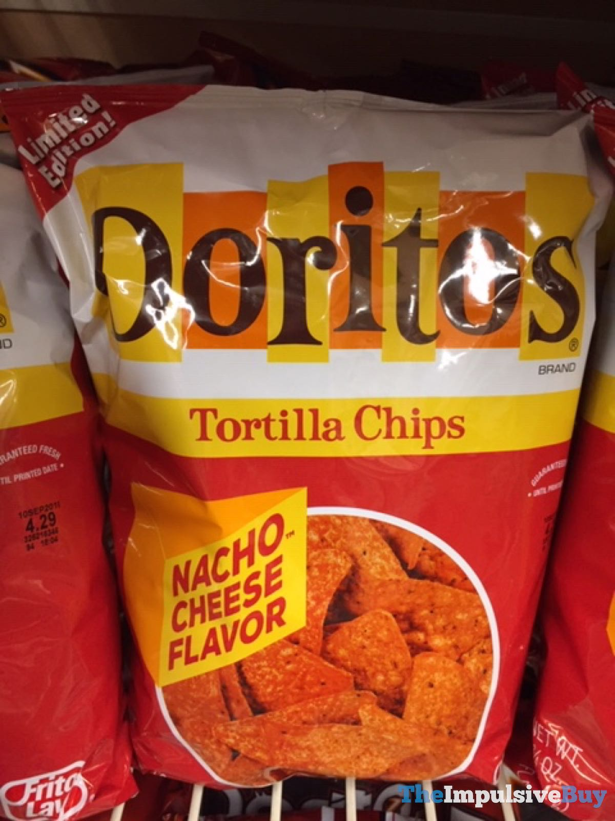 Back On Shelves Doritos Limited Edition Retro Nacho Cheese And