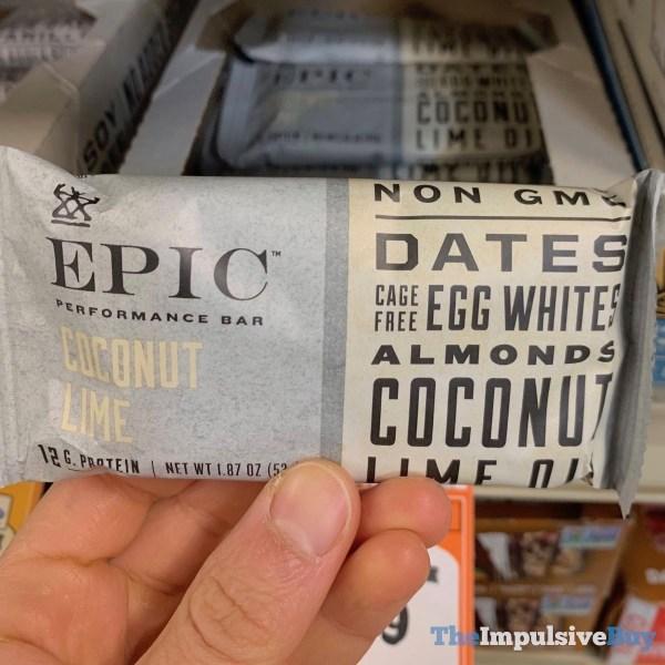 Epic Coconut Lime Performance Bar