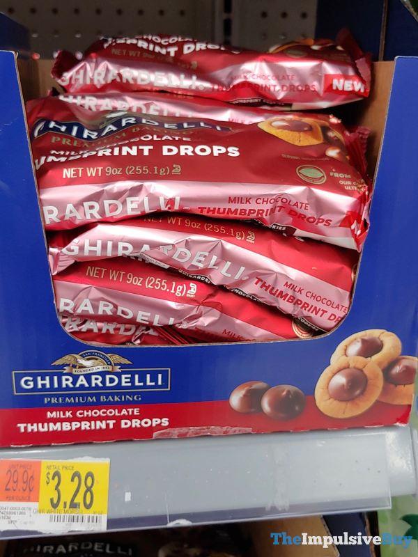 Ghirardelli Milk Chocolate Thumbprint Drops