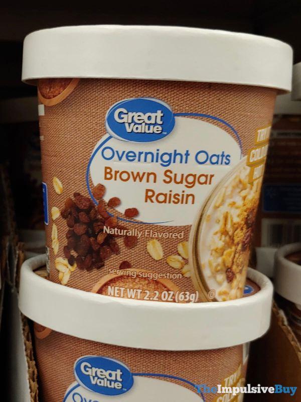 Great Value Brown Sugar Raisin Overnight