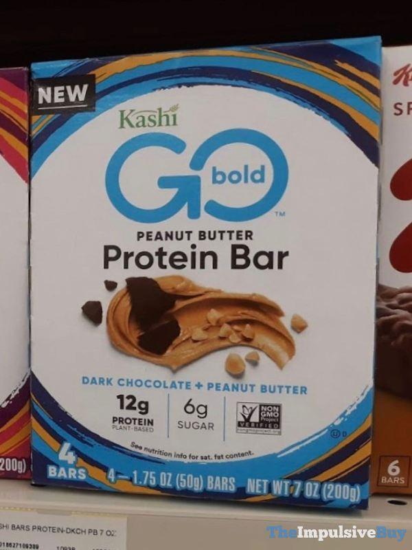 Kashi Go Bold Dark Chocolate Peanut Butter Protein Bars