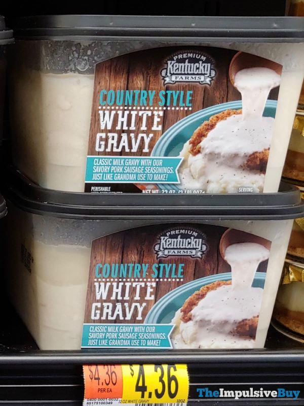Kentucky Farms Country Style White Gravy  Version 2
