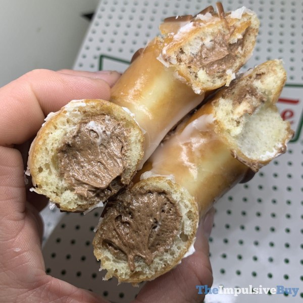 Krispy Kreme Original Filled Doughnuts Chocolate