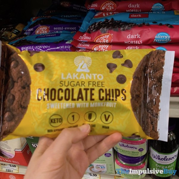 Lakanto Sugar Free Chocolate Chips