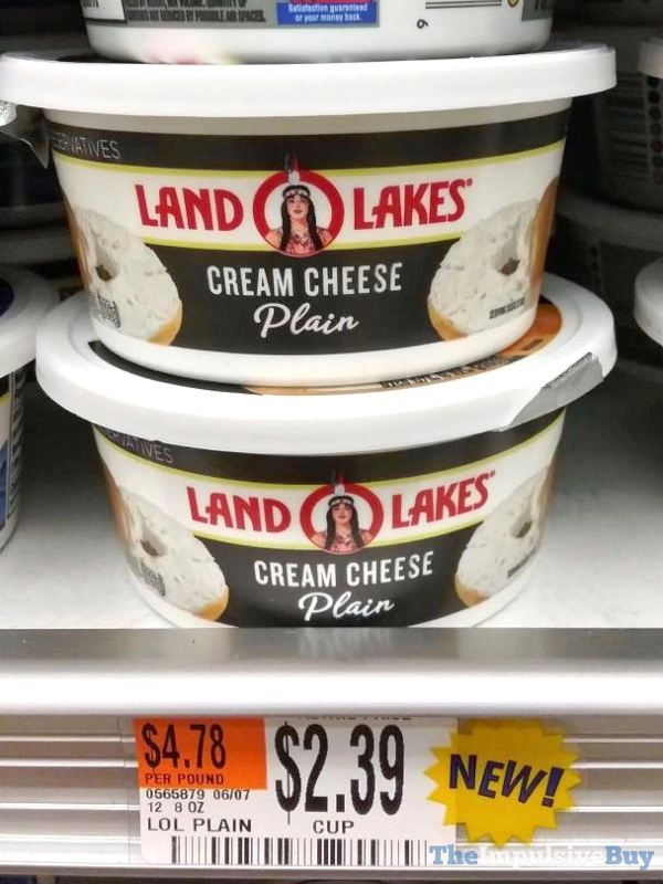 Land O Lakes Plain Cream Cheese