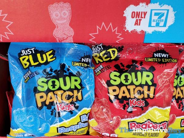 Limited Edition Sour Patch Kids Just Blue and Just Red