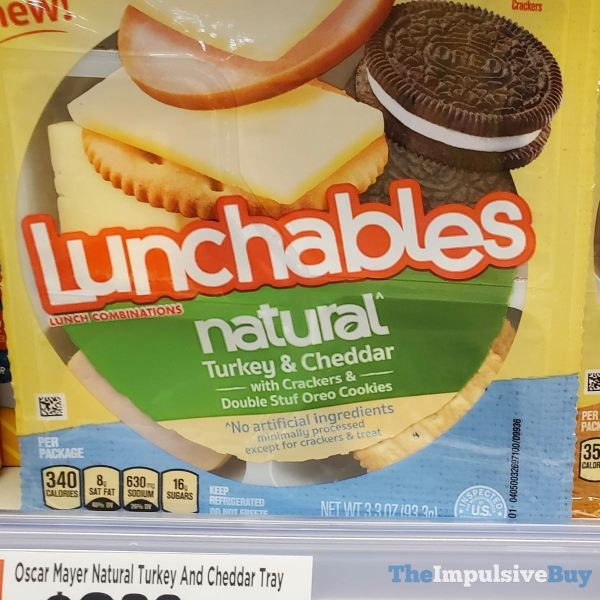 Lunchables Natural Turkey & Cheddar